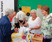 Senioren liessen sich informieren an der 1. Seniorenmesse in Schwyz