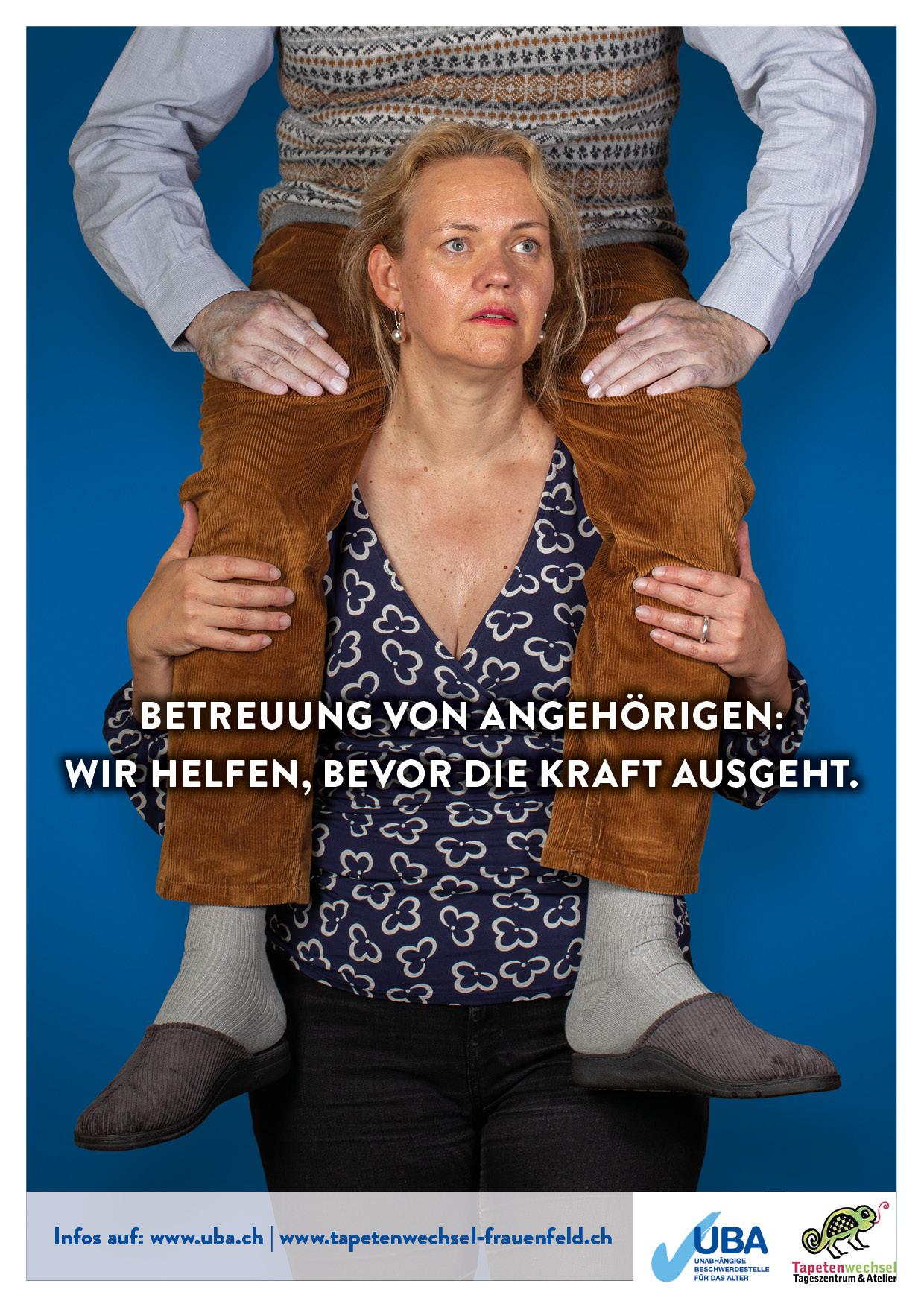 """ABGESAGT Thurgau /  Kampagne """"Wir helfen bevor die Kraft ausgeht"""""""