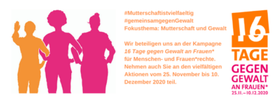 16 Tage gegen Gewalt an Frauen* –  25.11 20 – 10.12.20 – Gewalt an betagten Müttern – UBA Podcasts