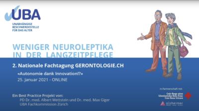 Weniger Neuroleptika in der Langzeitpflege