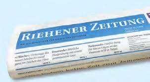 """""""Wenn es nicht mehr weitergeht""""/ Riehener Zeitung / 23.Juli 2021"""